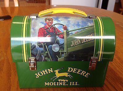 John Deere Mini Lunch Box Tin