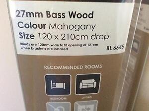 Timber Venetian blinds basswood 27 mm Kallangur Pine Rivers Area Preview