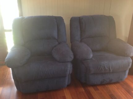 2  Recliner Arm Chairs.