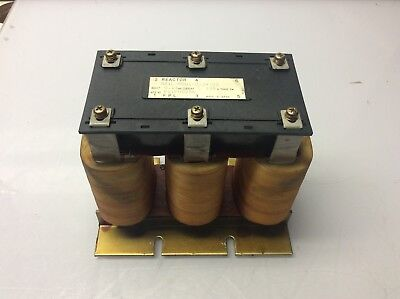 Ge Fanuc Line Reactor Transformer A81l-0001-0124-02 Used Warranty