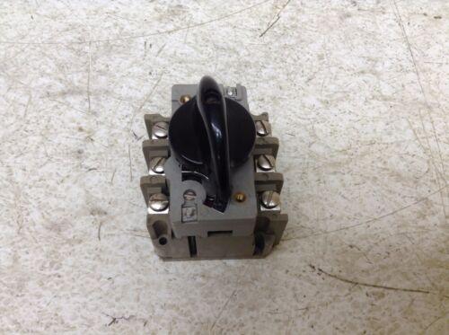Elektra EEC AEG 5042 0.55-0.9 Amp Manual Motor Starter Tailfingen