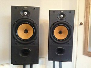 B&W DM 602.2 speakers