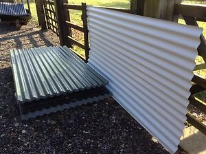 NEW Galvanised Corrugated Iron Sheets for Shepherds Huts