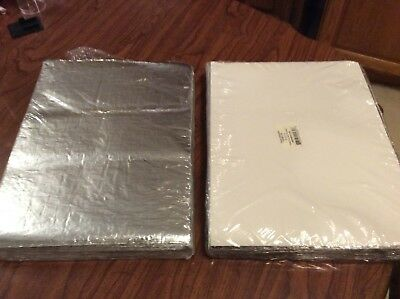 2 Pack 1000 Total Insulated Foil Sandwich Wrap Sheets10 12 X 14