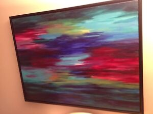 Painting. Abstract beautifully framed