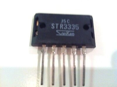 Str3335 Voltage Regulator New Original Sanken Lot Of 4