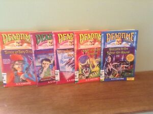 Dead time Stories book lot