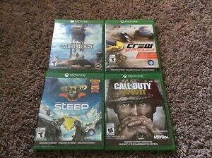 Multiple Xbox One Games