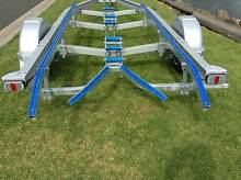 Skid to Roller Conversions Boat Trailer Repairs and Mods Hemmant Brisbane South East Preview