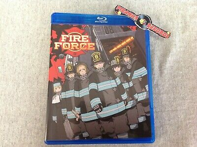 Fire Force Season One Part One USED Blu-Ray 2020 Piranha Records