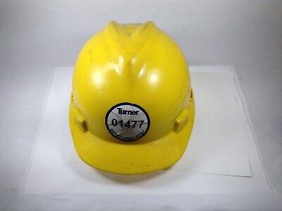 Vintage Medium Msa Linemans Hard Hat Helmet Uesd But In Good Shape With Liner