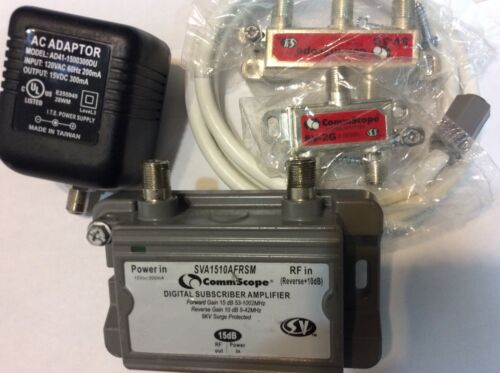 Lot of 3 CommScope HomeConnect SVA1510AFRSM BOOSTER AMP