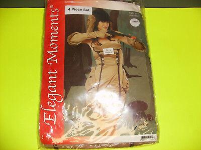 ELEGANT MOMENTS SEXY TRAPPER WOMEN HUNTER HALLOWEEN COSTUME SMALL (Hunter Halloween Costumes)