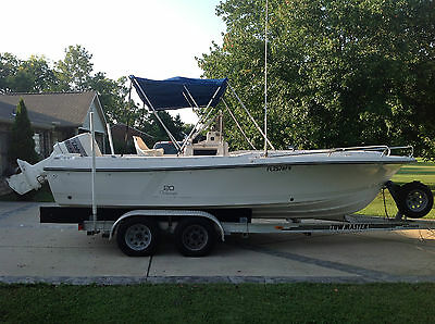 1987 Wellcraft V20 Steplift Center Console Open Fisherman