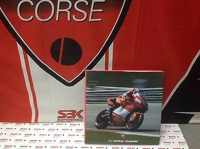 Ducati Corse 2004 Year Book NEW MotoGP, D16R WSB 999F04 /Supersport749RS