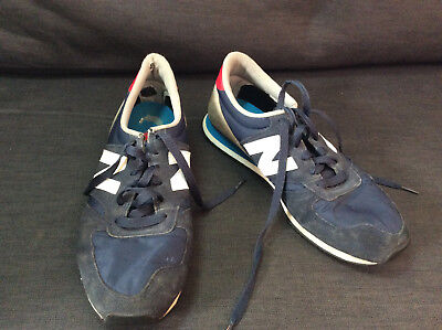 New Balance U420 Royal Blue Suede and Nylon ripstop Size 9 Men's