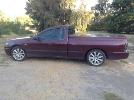 2004 Ford Falcon Ute Stawell Northern Grampians Preview