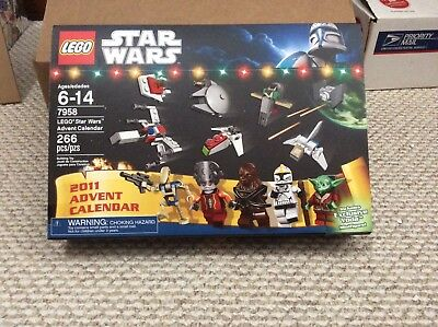 NEW LEGO 7958 2011 Star Wars Advent Calendar