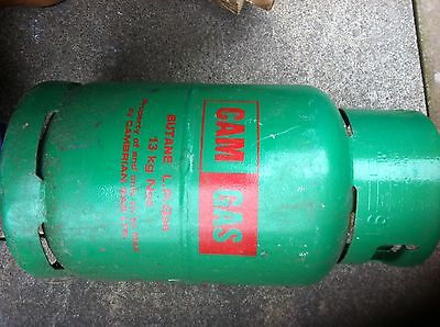 Empty cam gas Bottle 13 kg, butane gas Bottle, ready to be refilled-exchanged