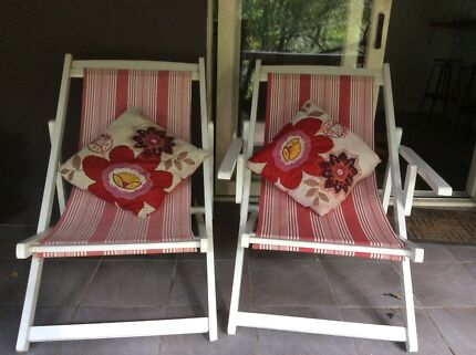 Deck chair x 2  Avalon Pittwater Area Preview