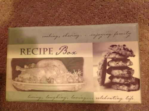 Once Upon A Family Staying In Touch Recipe Box
