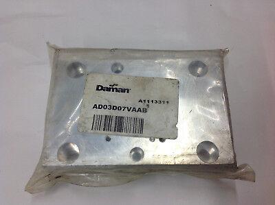 Daman Ad03d07vaab Valve Adaptor. New In Sealed Bag