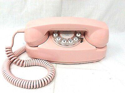 Crosley Pink Princess Desk Telephone Push Button CR 59-P1