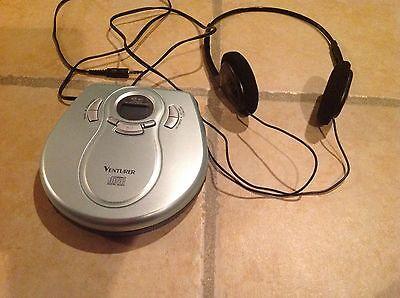 Venturer DM8901-45 Personal CD Player W/ Headphone 45 SEC Anti Shock Protection ()