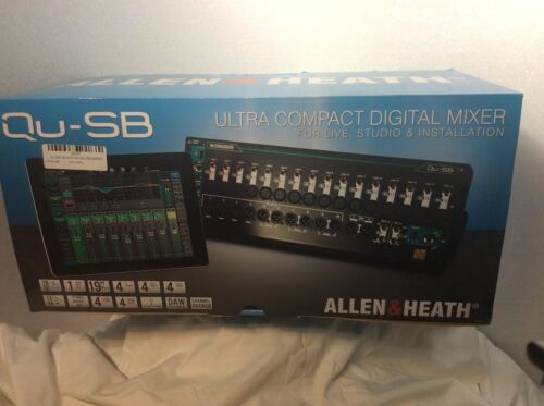 Allen & Heath Qu-SB Portable 18-In/14-Out Digital Mixer With Rack Ears