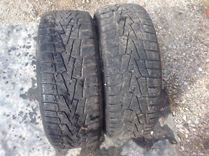 Two snow tires