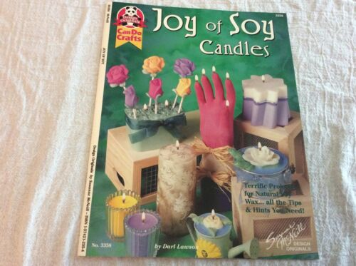 Design Originals Can Do Crafts Joy of Soy Candles Leaflet 3358 Projects