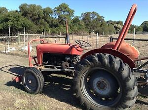 Massey Ferguson FE 35 Petrol Tractor with Slasher Ocean Grove Outer Geelong Preview