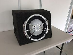 JVC SUBWOOFER IN PADDED FELT WRAPPED BOX Kellyville The Hills District Preview
