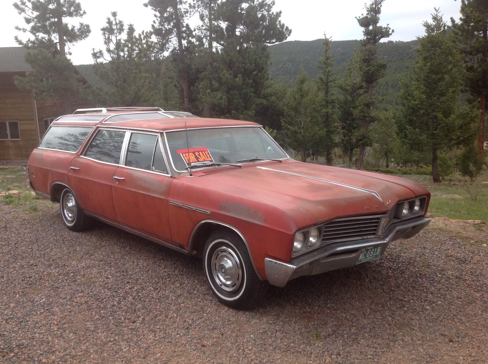1967 Buick SPORT WAGON  1967 BUICK SPORTWAGON - VISTA ROOF !!