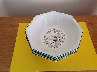 Johnson Brothers Eternal Beau Soup Cereal bowl Set of 4.