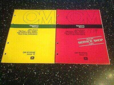 John Deere Fm 4 6 8 12 Row Series Row Crop Cultivators Operators Manual