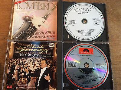 Max Greger [2 CD Alben] Klassisches Tanzvergnügen + Lovebird ( PDO West