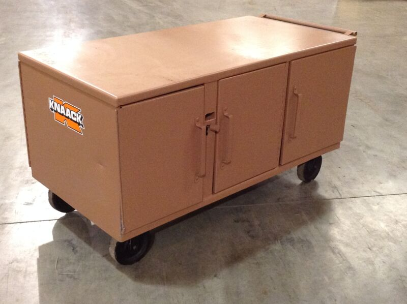 "Knaack 62 War Wagon 62"" X 32"" X 26"" Rolling Work Bench, 3,400 Lbs With Casters"