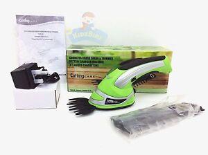 Cutting Care Cordless 2 in 1 Grass Lawn Shear Bush Hedge Hand Trimmer Cutter