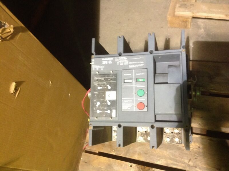Westinghouse Spb65 1200 Amp 600 Volt Circuit Breaker