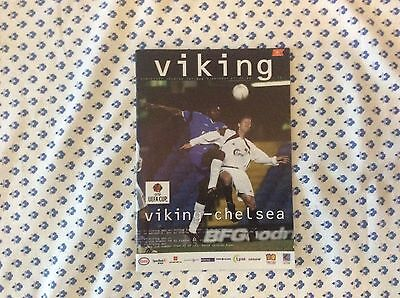 Viking Stavanger v Chelsea 2002-03 UEFA Cup Programme