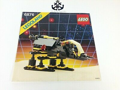 Lego Vintage Space Blacktron Alienator Instructions For Set 6876-1