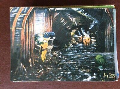 da8 postcard unused selby coalfield john storey j1s development