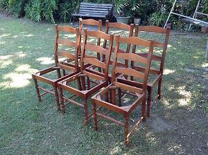 Country Style Dining Chairs Loganholme Logan Area Preview