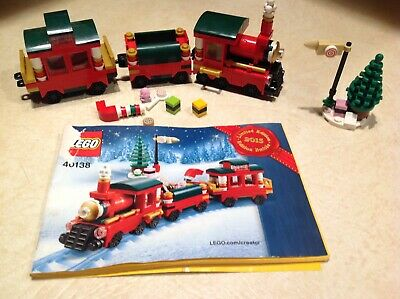 SALE~2015 Limited Ed 40138 Lego Holiday Train~Instruction~No Box~Holiday Gift~VG