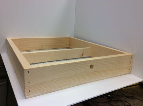 Candy Board Frame for 10 Frame Pine Langstroth Beehive