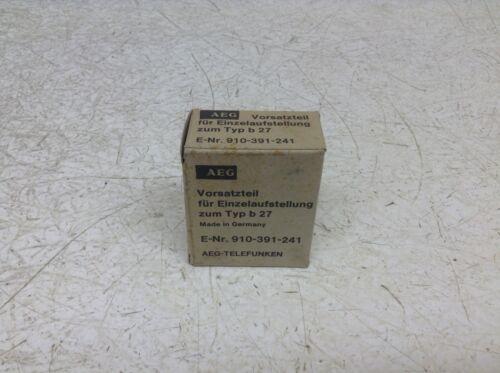 AEG Modicon B27 Overload Relay Adapter zum Typ b 27 New