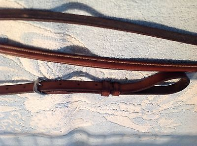 Henri De Rivel rolled leather horse size standing martingale