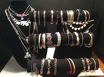 JEWELRY HUGE LOT BOUTIQUE NECKLACES BRACELETS ANKLETS EARRINGS NEW WHOLESALE