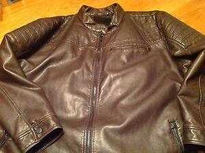 Point Zero faux leather jacket (plus size 4X)
